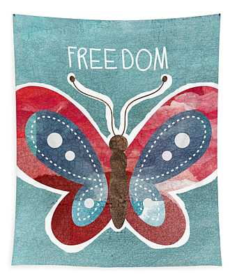 Butterfly Freedom Tapestry