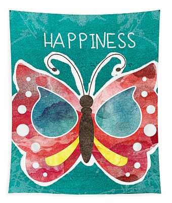Butterfly Happiness Tapestry