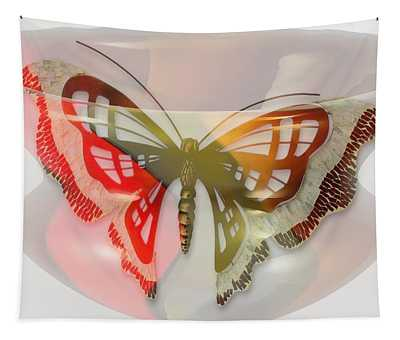 Butterfly Marble Tapestry