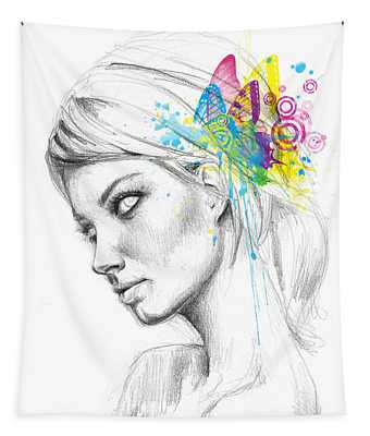 Butterfly Queen Tapestry