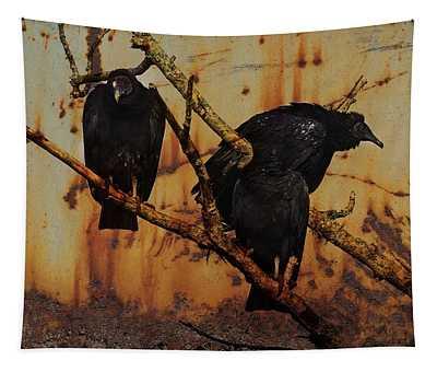 Buzzard Art Tapestry