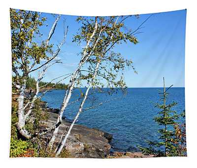 By The Shores Of Gitche Gumee Tapestry