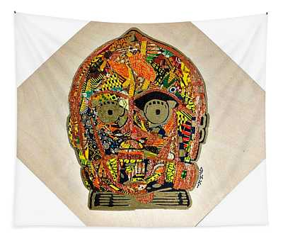 C3po Star Wars Afrofuturist Collection Tapestry