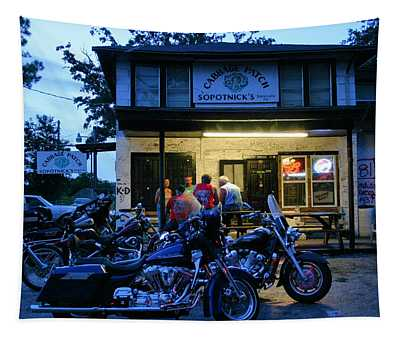 Cabbage Patch Bikers Bar Tapestry