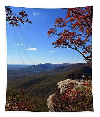 Caesars Head State Park In Upstate South Carolina Tapestry