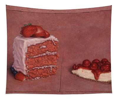 Cakefrontation Tapestry