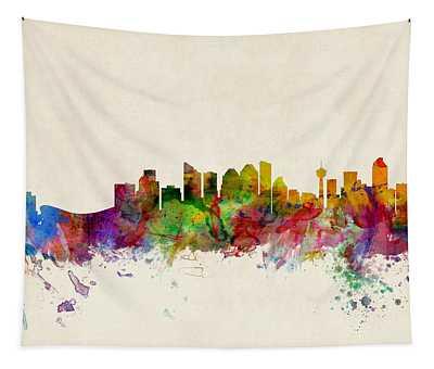 Calgary Skyline Tapestry
