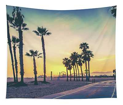 Cali Sunset Tapestry