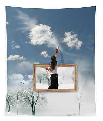 Califonia Dreaming  Tapestry