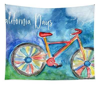 California Days - Art By Linda Woods Tapestry
