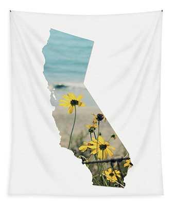 California Dreams Art By Linda Woods Tapestry