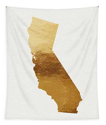 California Gold- Art By Linda Woods Tapestry