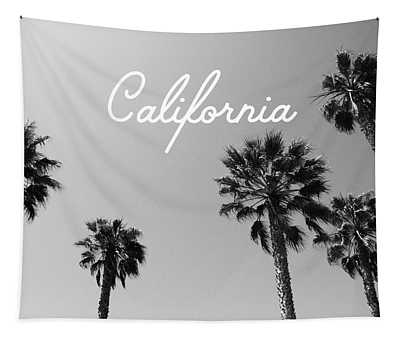 California Palm Trees By Linda Woods Tapestry