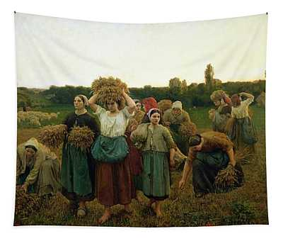 Calling In The Gleaners Tapestry