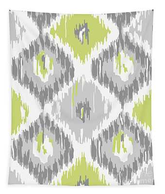 Calyx Ikat Pattern Tapestry