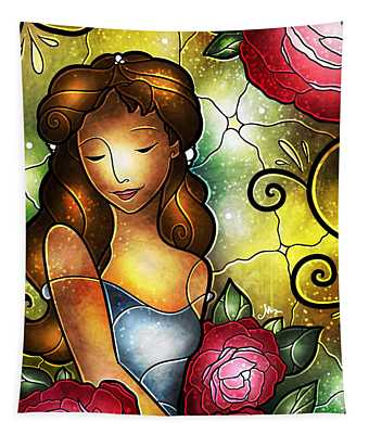 Lady Camellia Tapestry