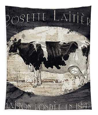 Campagne I French Cow Farm Tapestry