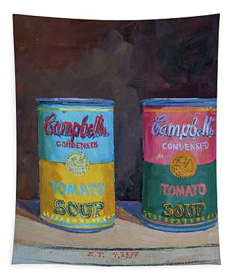 Campbell Soup Time Tapestry