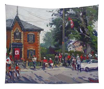 Canada Day Parade At Glen Williams  On Tapestry