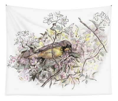 Canada Warbler Tapestry