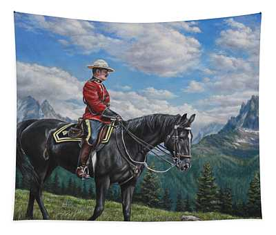 Canadian Majesty Tapestry