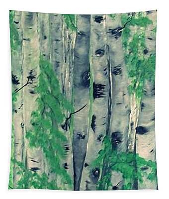 Canadian White  Poplar Tapestry