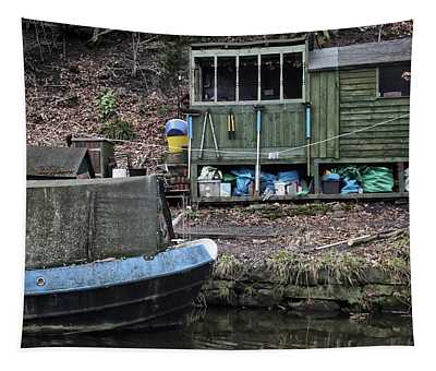Canal Life Tapestry