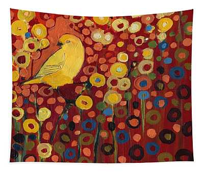 Canary Paintings Wall Tapestries