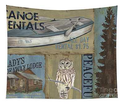 Canoe Rentals Lodge Tapestry