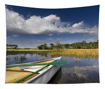 Canoeing In The Everglades Tapestry