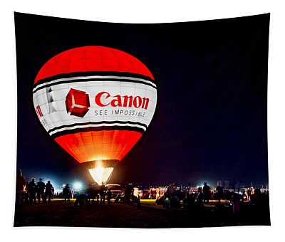 Canon - See Impossible - Hot Air Balloon Tapestry