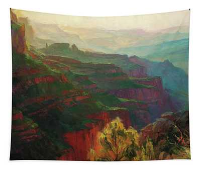 Canyon Silhouettes Tapestry