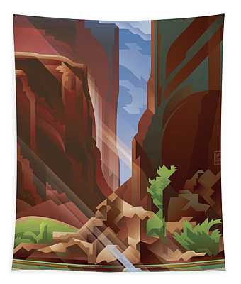 Canyonlands Glen Canyon Light Tapestry
