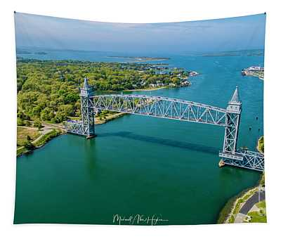 Cape Cod Canal Railroad Tapestry