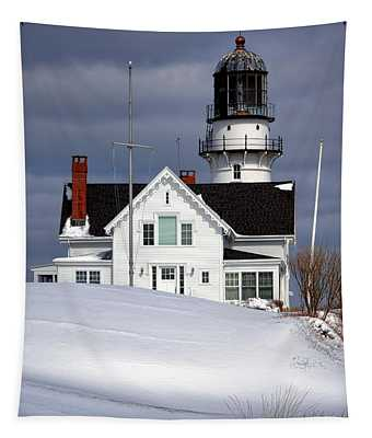Cape Elizabeth Lighthouse Tapestry