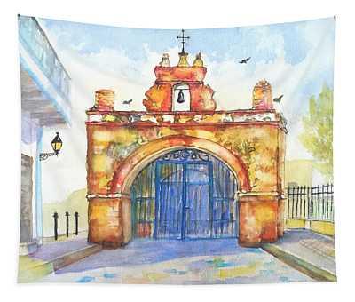 Capilla Del Cristo Puerto Rico Tapestry