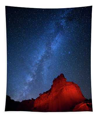 Caprock Canyons October Sky Tapestry