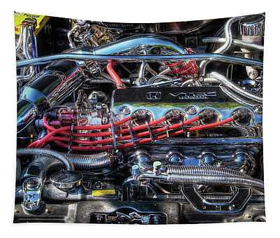 Car - Engine - Car Intestines Tapestry