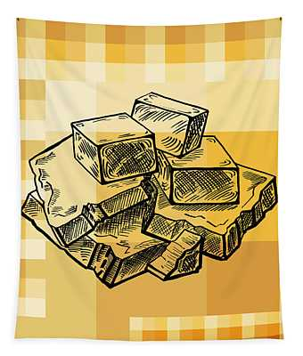 Caramel And Fudge Tapestry