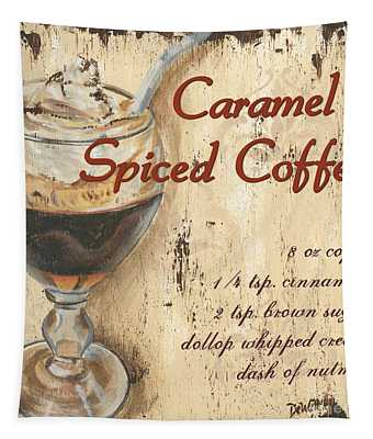 Caramel Spiced Coffee Tapestry