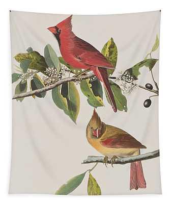 Cardinal Grosbeak Tapestry