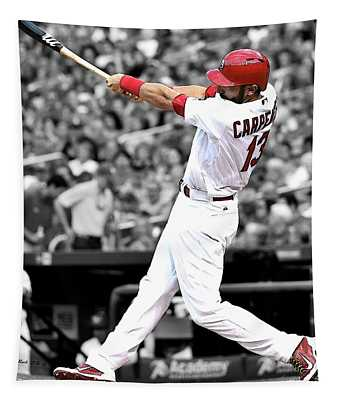 Cardinal Nation, Matt Carpenter, St. Louis Cardinals, 2018 Mvp Tapestry
