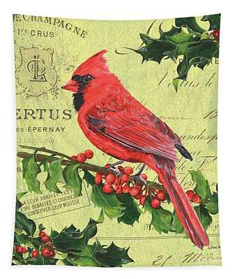 Cardinal Peace Tapestry