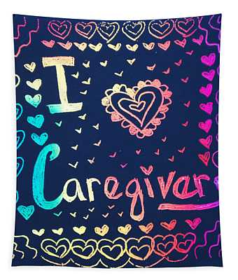 Caregiver Rainbow Tapestry