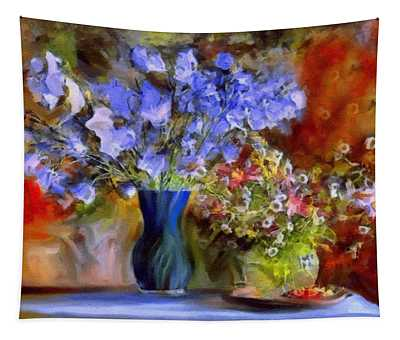 Caress Of Spring - Impressionism Tapestry