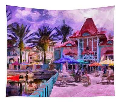 Caribbean Beach Resort Tapestry