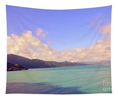 Caribbean Blue Tapestry