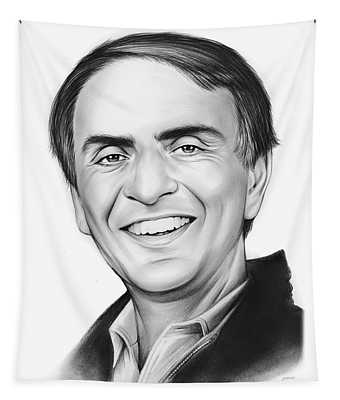 Carl Sagan Tapestry