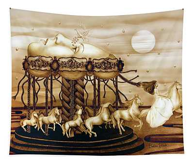 Carousel Of Life Tapestry