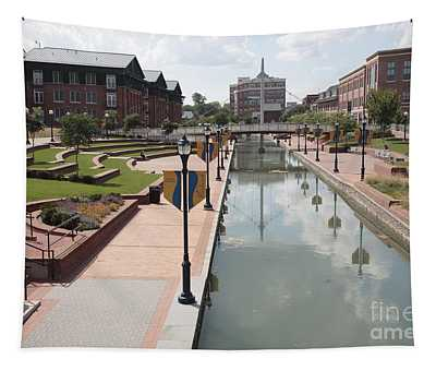 Carroll Creek Park In Frederick Maryland Tapestry